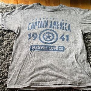 Marvel Captain America Top